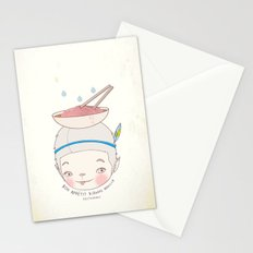맛! Bon appetit bizarre nouille restaurant ! Stationery Cards