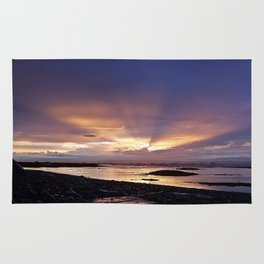 Beams of Light across the Sky Rug