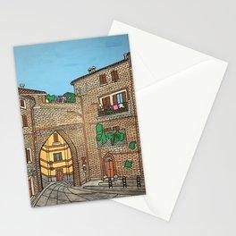perugia porta pesa Stationery Cards