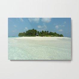 Ocean Island Metal Print