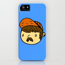 Just Your Average Guy iPhone Case