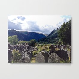 Glendalough, Ireland Metal Print