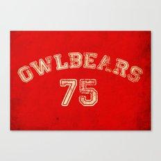 Go Owlbears! Canvas Print