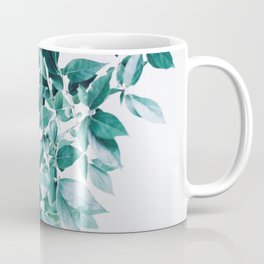 Minimal Cluster Leaves Coffee Mug