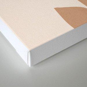 abstract minimal girl Canvas Print