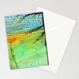 Sunrise on the Meadow Stationery Cards