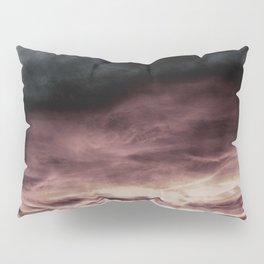 BLACK & PINK & GOLD TOUCHING #1 #abstract #decor #art #society6 Pillow Sham