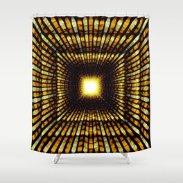 Lure of Riches, 2360o Shower Curtain