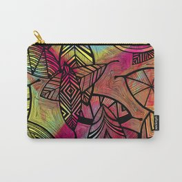 Crazy Leaves  Carry-All Pouch