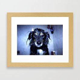 Wet Jamie Framed Art Print