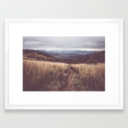 Bieszczady Mountains - Landscape and Nature Photography Framed Art Print