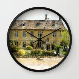 The Dial House, Bourton-on-the-Water Wall Clock