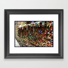 Gum Ledge Framed Art Print