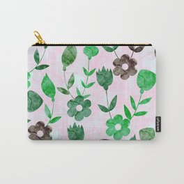 Watercolor Floral IV Carry-All Pouch