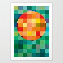 Color player Art Print