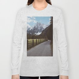Let's hike together - Landscape and Nature Photography Long Sleeve T-shirt