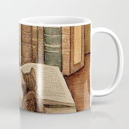 Kittens Reading A Book Coffee Mug