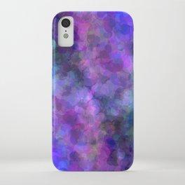 Blueberry Bubbles iPhone Case