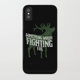 Something Worth Fighting For iPhone Case