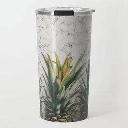 Pineapple marble Travel Mug