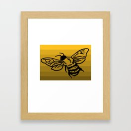 bee beekeeper beekeeper beekeeper gift honey beekeeping Framed Art Print
