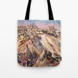 Toledo, Spain by David Bomberg Tote Bag