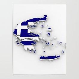 GREECE LOVE Poster