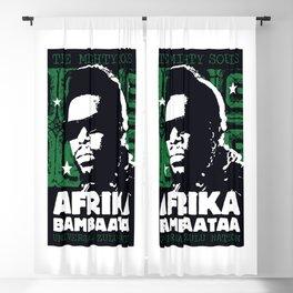 The Mighty Souls: Afrika Bambaataa Blackout Curtain
