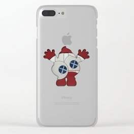 Happy Poop Clear iPhone Case