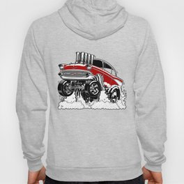 57 Gasser REV-3 RED Hoody