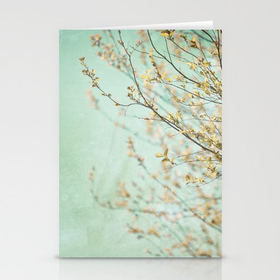 Turquoise Skies  Stationery Cards