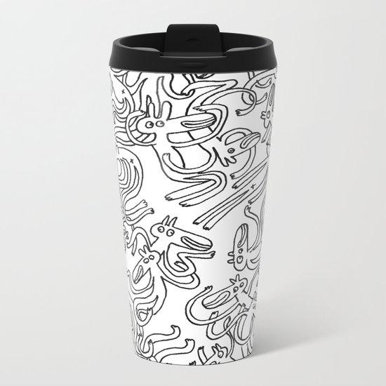 Garbled Metal Travel Mug