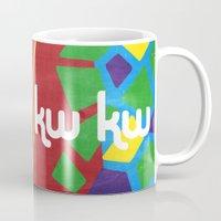memphis Mugs featuring Memphis by KAYWAAL