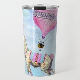 Flying Llama Travel Mug