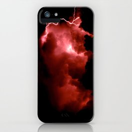 Lightning Strikes iPhone Case
