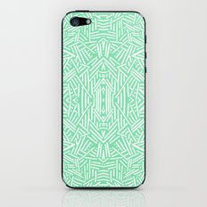 Radiate (Celadon) iPhone & iPod Skin