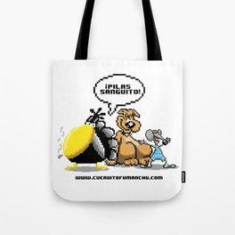 Cuervito Fumanchu - PIXEL EDITION Tote Bag