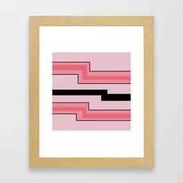 PinK BLaCK New AgE Framed Art Print