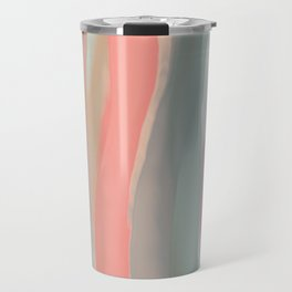 Peachy Watercolor Travel Mug