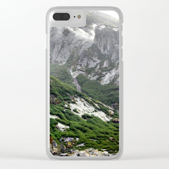 Endicott Mountainside Clear iPhone Case