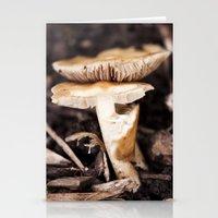 mushroom Stationery Cards featuring Mushroom by Alane Gianetti
