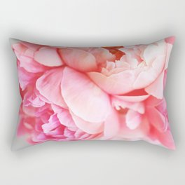 Peonies Forever Rectangular Pillow