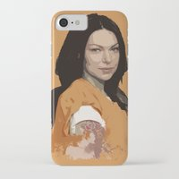 alex vause iPhone & iPod Cases featuring Vause Ass Bitch. by Fashionable