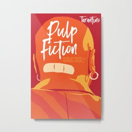 Quentin Tarantino's Plot Movers :: Pulp Fiction Metal Print