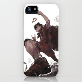 Sketchy Kuroo iPhone Case