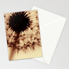 dandelion gold XIII Stationery Cards