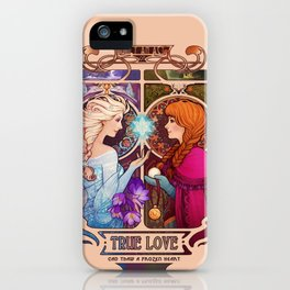 Let Me In - quote version iPhone Case