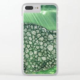 Ballena Espiral Clear iPhone Case