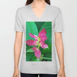 Flower #1 Color Unisex V-Neck
