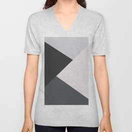 Abstract 26 Unisex V-Neck